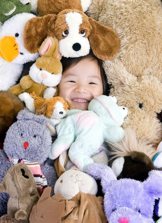 Download Stuffed Animals stock image. Image of close, pile, miniature - 3222899