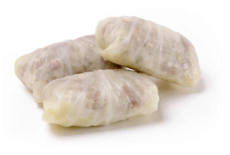 Stuffed cabbage roll prepared food royalty free stock photos