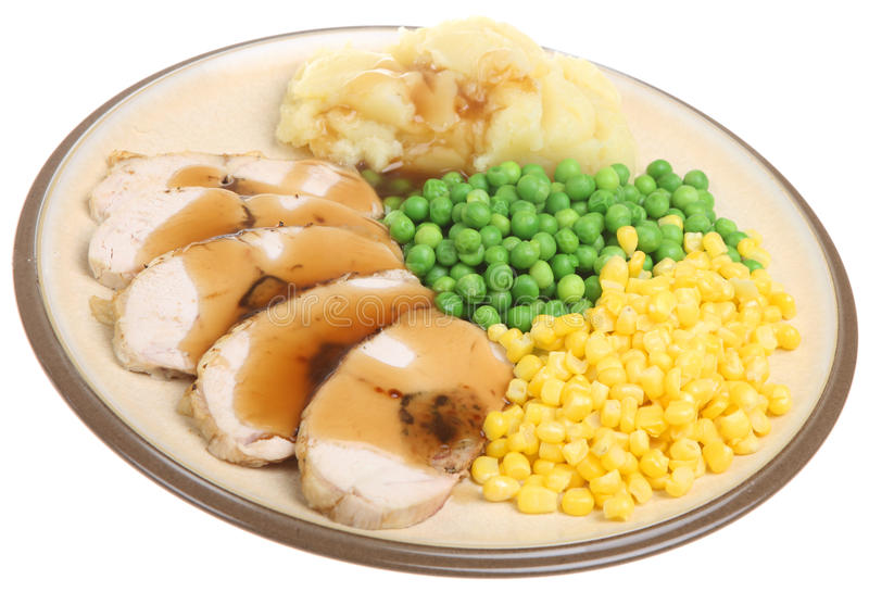 Download Stuffed Chicken Breast Dinner Stock Photo - Image: 15505062