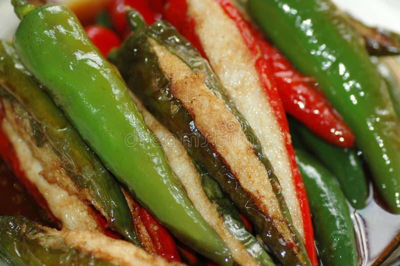 Download Stuffed Chilli stock photo. Image of green, appetizing - 7087318