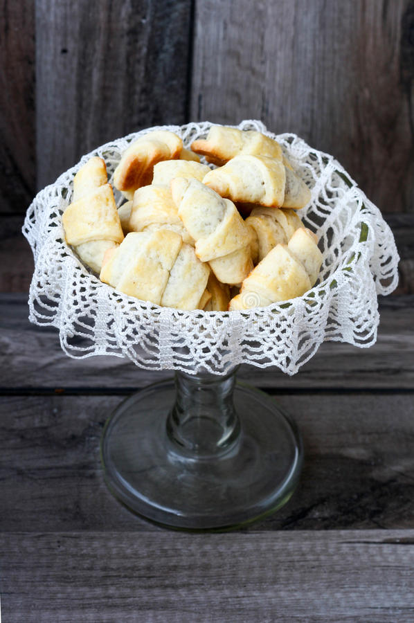 Download Stuffed Crescents stock image. Image of rolls, meal, cloth - 27620377