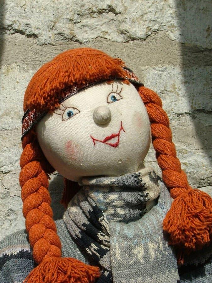 Stuffed doll stock image