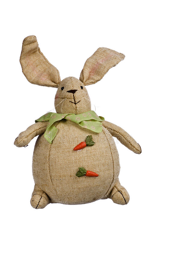 Download Stuffed easter bunny stock photo. Image of details, fabric - 13399828