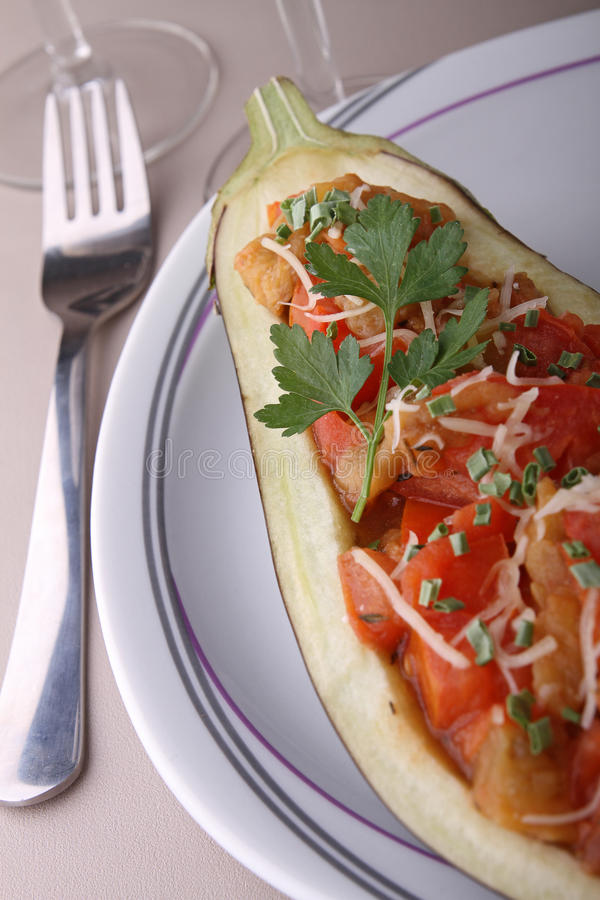 Download Stuffed Eggplant Stock Image - Image: 19194721