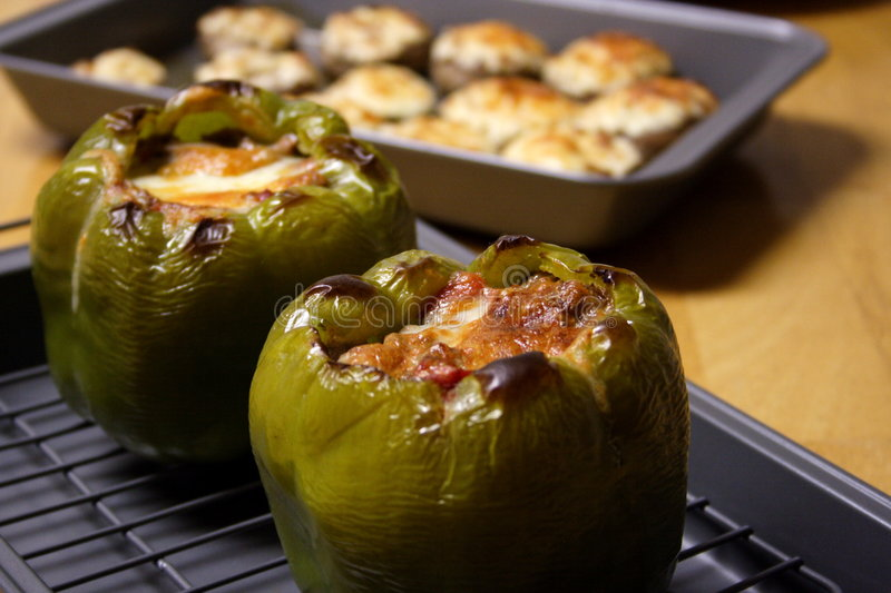 Stuffed Peppers 1 stock photos