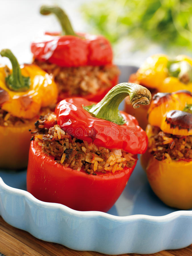 Free Stuffed Peppers Royalty Free Stock Photography - 10235507