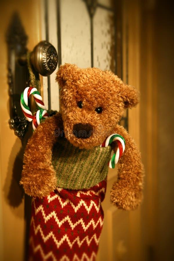 Stuffed stocking stock images