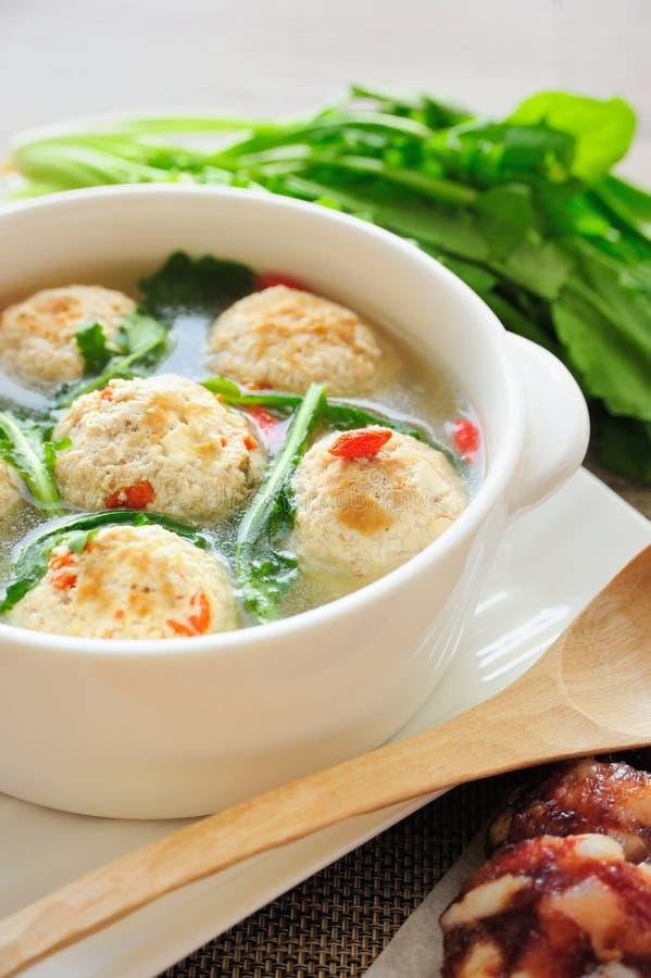 Stuffed Tofu Ball royalty free stock images