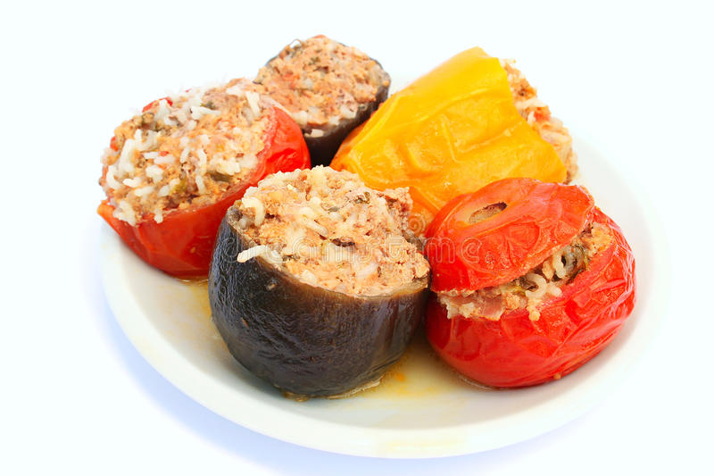 Download Stuffed vegetables stock image. Image of nutritious, meal - 18308289