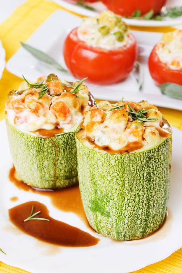 Download Stuffed Zucchini Stock Photography - Image: 15360172