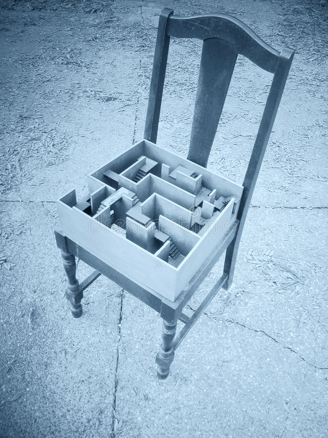Stuhl. Lizenzfreie Stockfotos