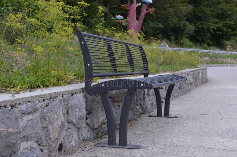 Stuhl in der Natur stockfotos