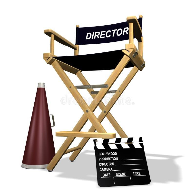 Stuhl des Direktors vektor abbildung