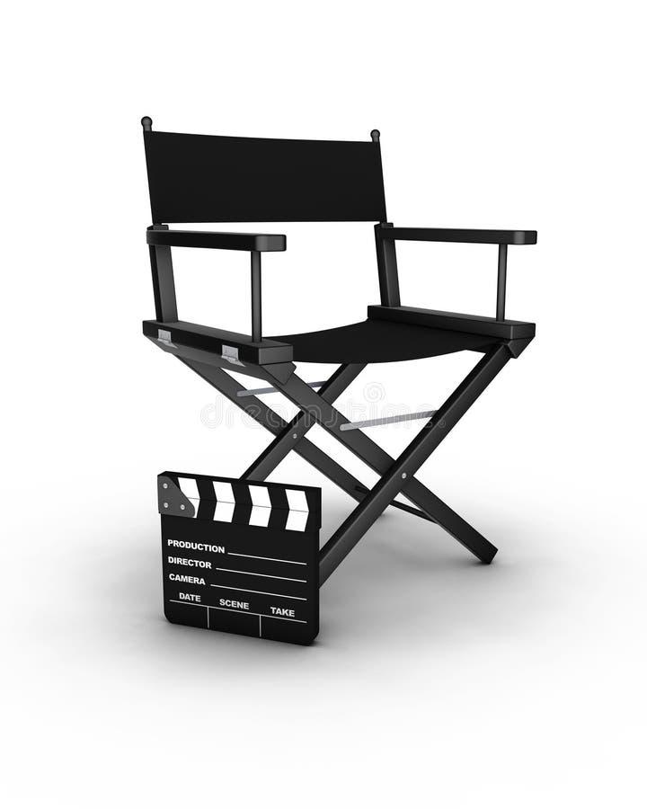 Stuhl des Direktors stock abbildung