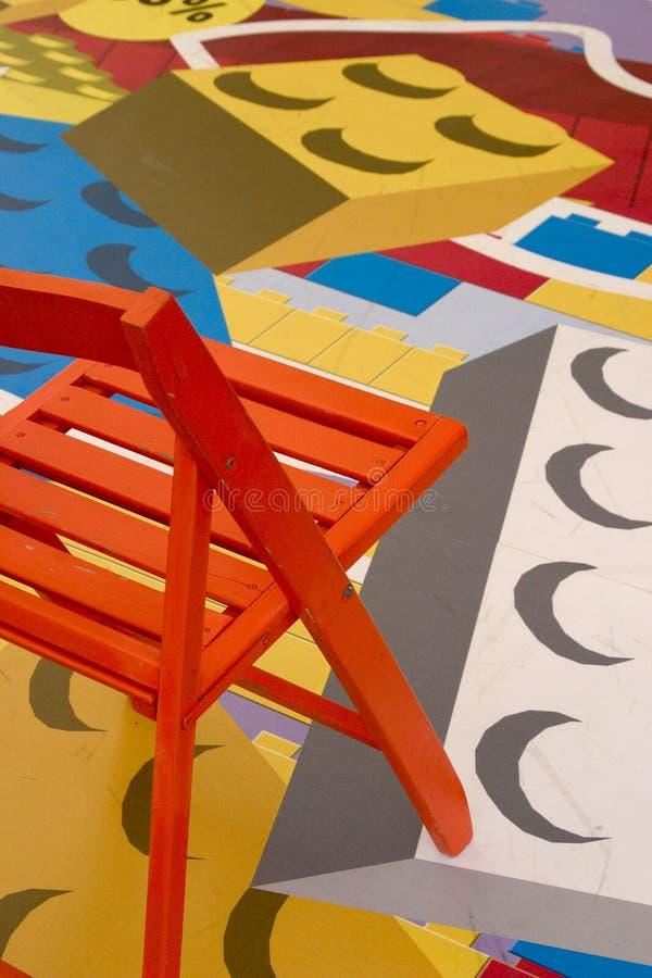 Stuhl in Lego stockbilder