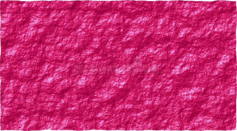 Stuitende roze ruwe muur abstracte vectorafbeeldingen als achtergrond stock illustratie