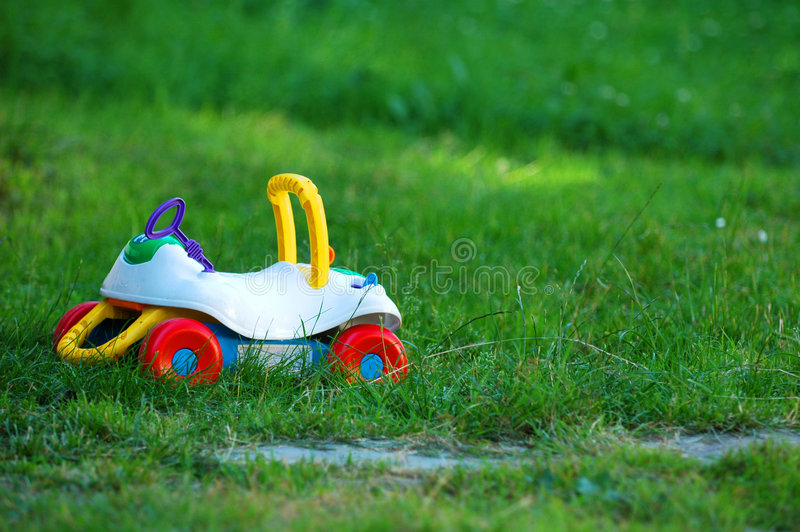 Stuk speelgoed - auto royalty-vrije stock afbeeldingen