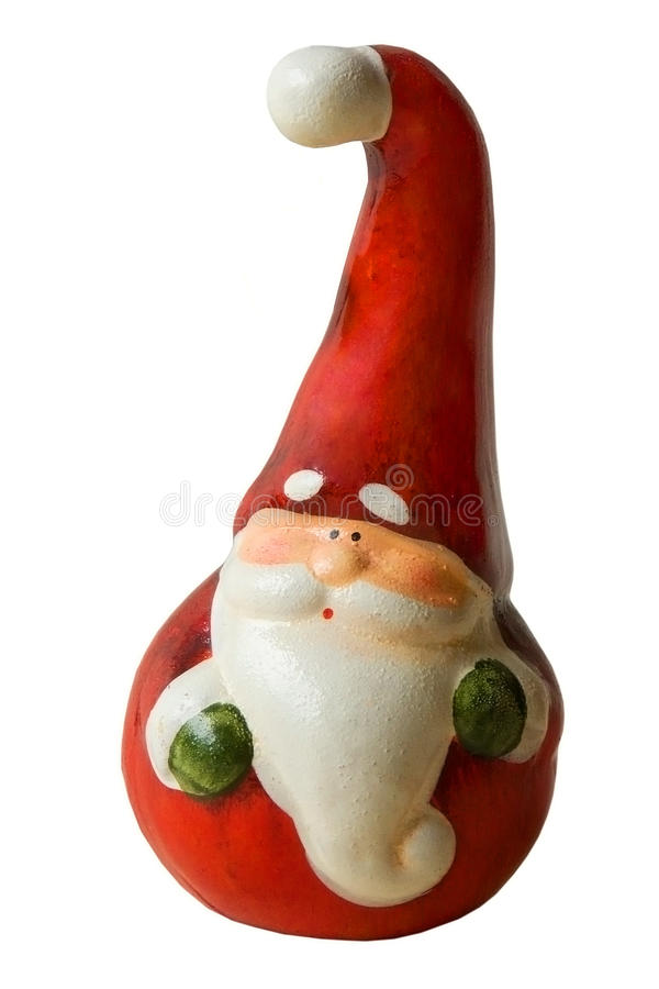 Stuk speelgoed de Kerstman royalty-vrije stock afbeeldingen