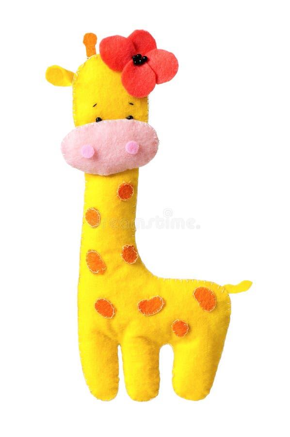 Stuk speelgoed giraf royalty-vrije stock fotografie