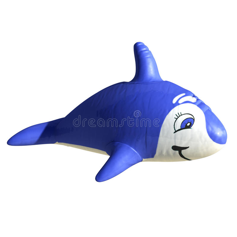 Stuk speelgoed haai stock illustratie