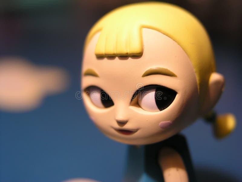 Stuk speelgoed Manga Japan royalty-vrije stock foto