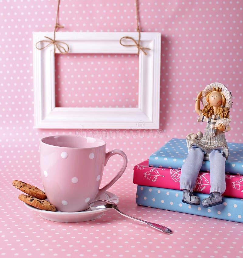 Stuk speelgoed met harten stock foto's