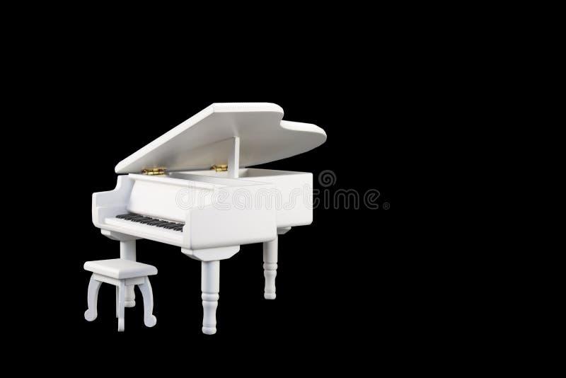 Stuk speelgoed piano royalty-vrije stock foto's