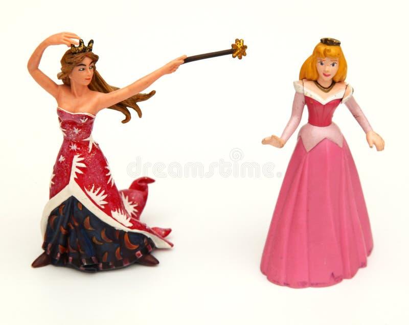 Stuk speelgoed prinsessen royalty-vrije stock foto