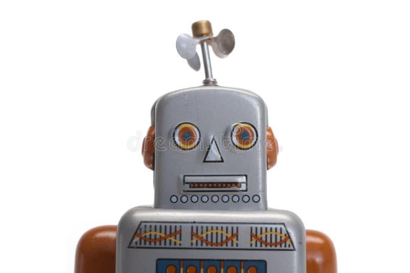 stuk speelgoed robot stock afbeeldingen