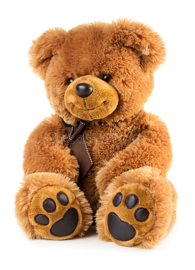 Stuk speelgoed teddybeer stock foto