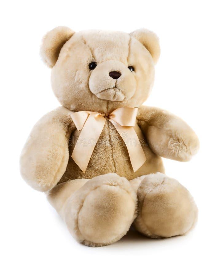Stuk speelgoed teddybeer royalty-vrije stock fotografie