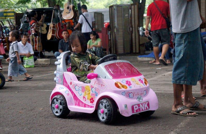 Stuk speelgoed voertuig royalty-vrije stock foto's