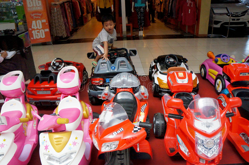 Stuk speelgoed voertuig stock foto