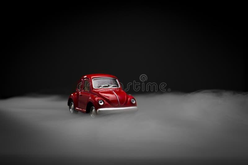 Stuk speelgoed Volkswagen Beetle stock afbeelding