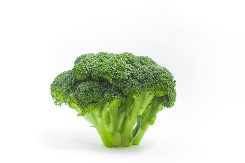 Stuk van broccoli stock afbeelding
