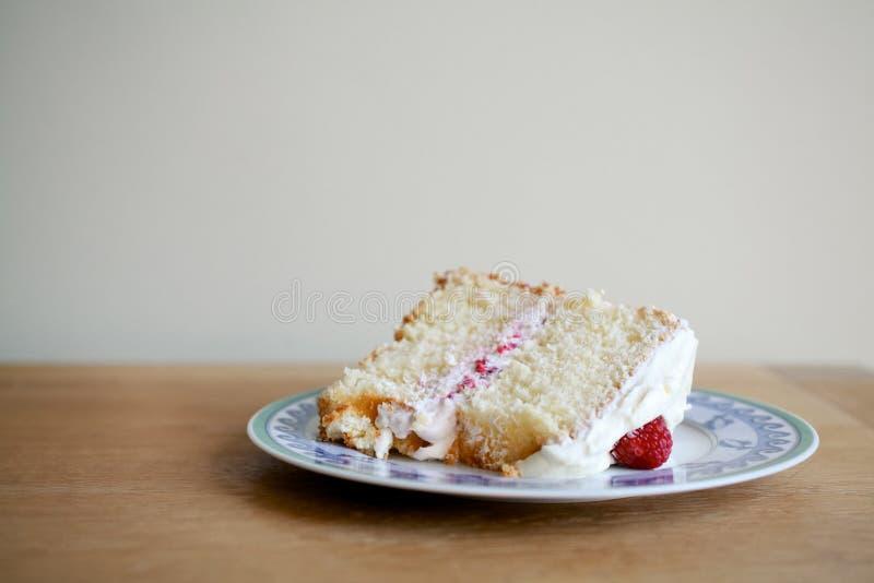 Stuk van Cake royalty-vrije stock afbeelding