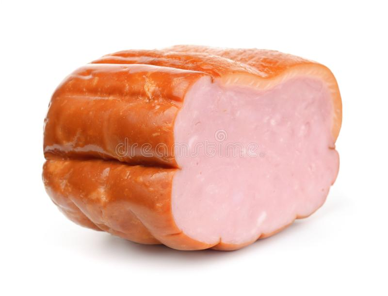 Stuk van gerookte Ham royalty-vrije stock fotografie