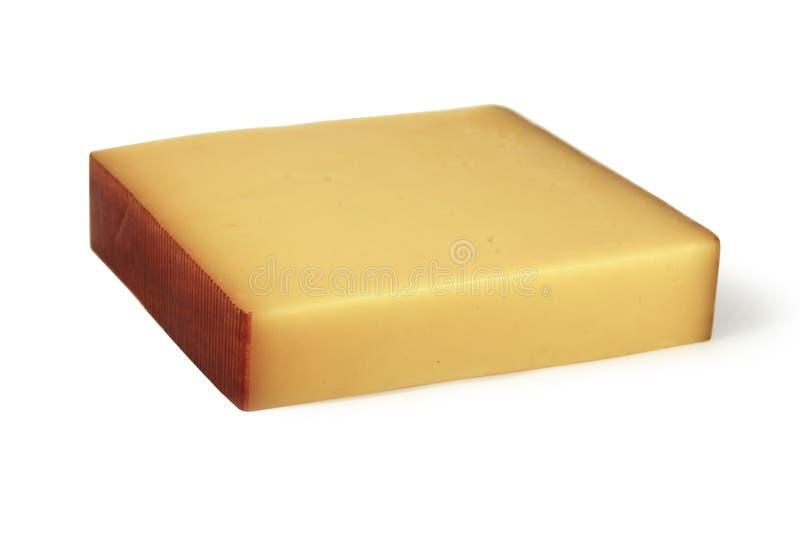 Stuk van kaas royalty-vrije stock afbeelding