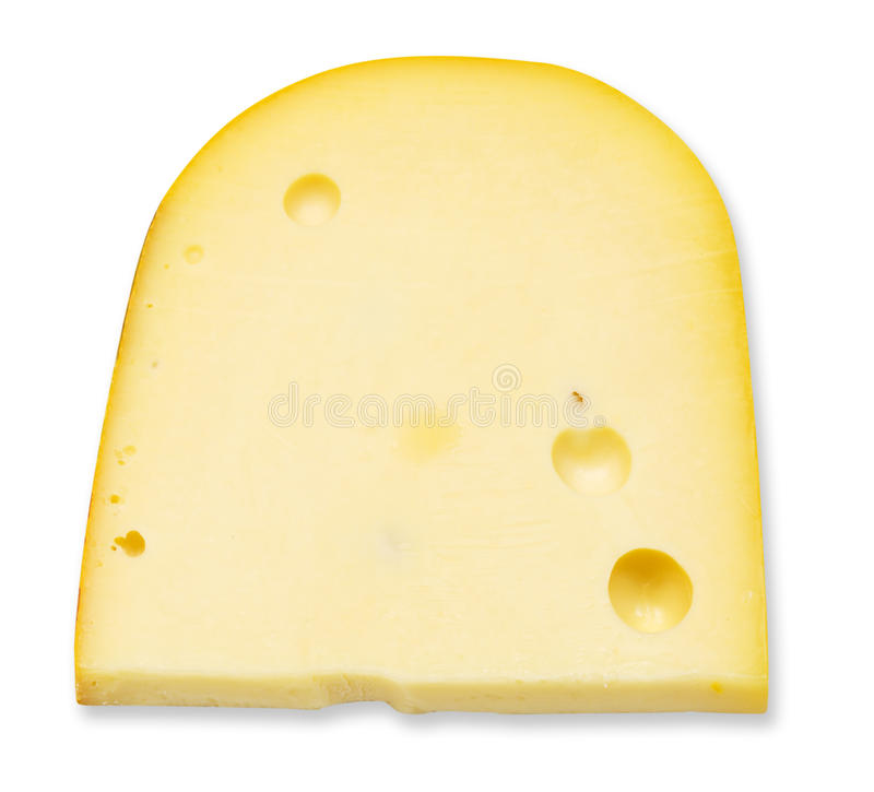 Stuk van kaas stock foto