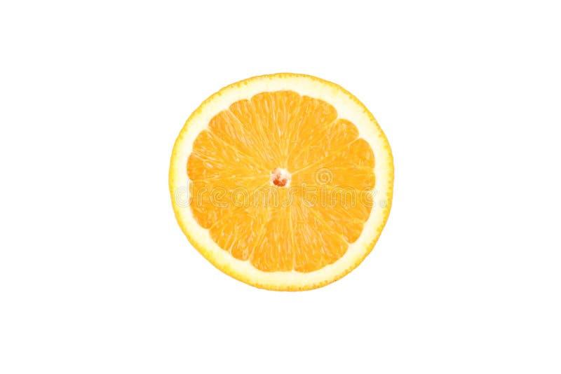 Stuk van Oranje Fruit royalty-vrije stock foto