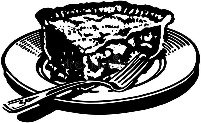 Stuk van Pastei 2 royalty-vrije illustratie