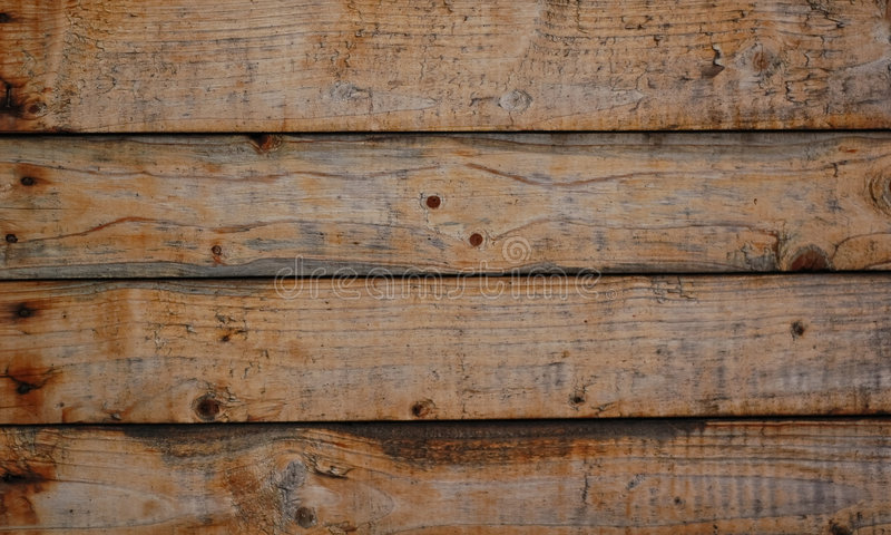Stukken van houten muur royalty-vrije stock foto