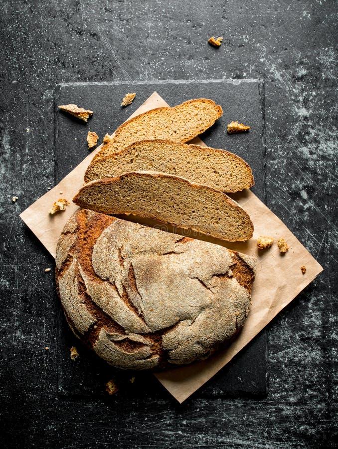 Stukken van vers brood royalty-vrije stock foto