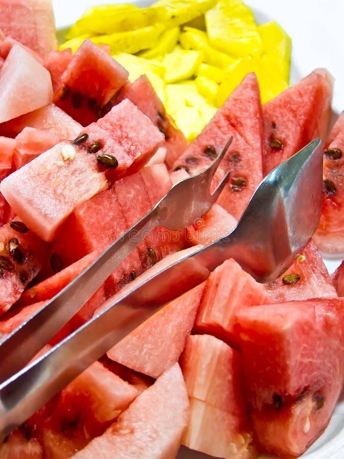 Stukken van watermeloen royalty-vrije stock fotografie