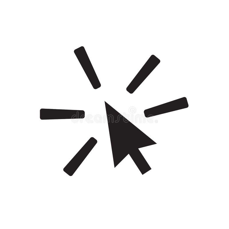 Stuknięcie ikona na białym tle ilustracji