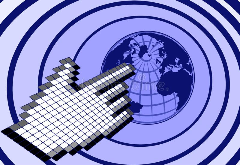 Stuknięcie Planeta Bezpłatna Fotografia Stock