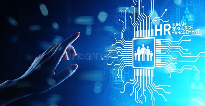 Stunde - Infrastruktur des Personals Management, der Einstellung, Team Buildings, der Organisation und soziale Beziehungen stockfotografie