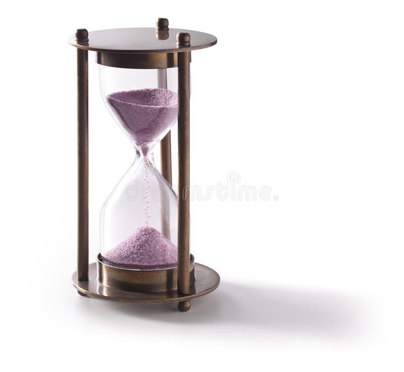 Stunden-Glas-Timer lizenzfreie stockfotos
