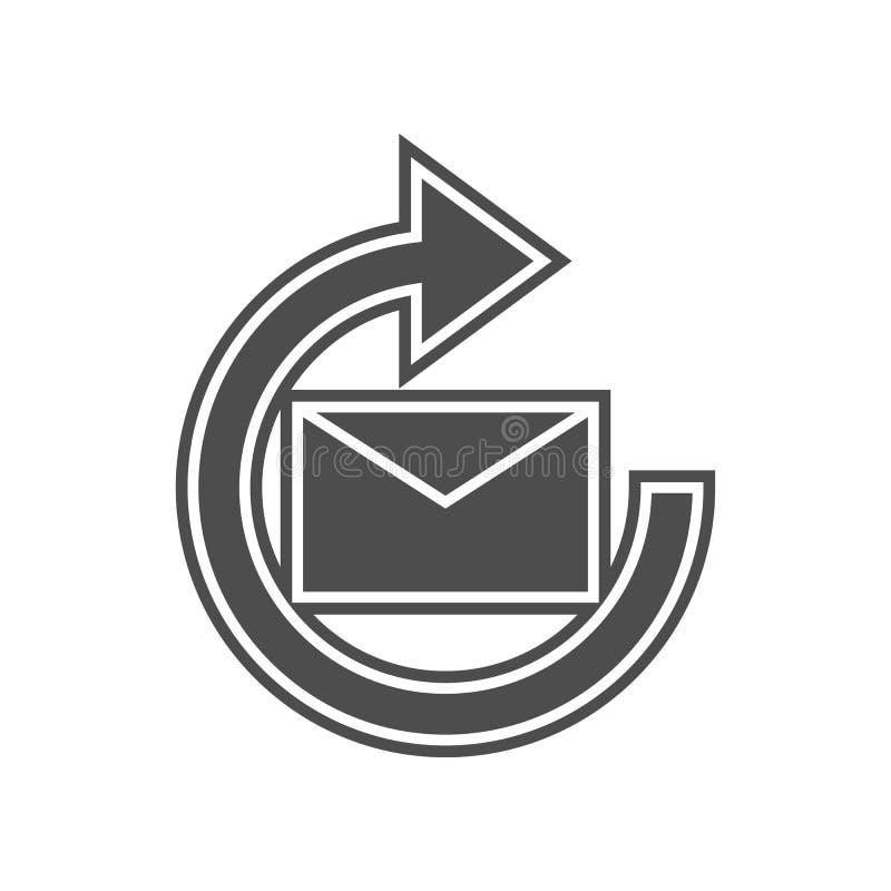 24 Stunden Service-Ikone Element von minimalistic f?r bewegliches Konzept und Netz Appsikone Glyph, flache Ikone f?r Websiteentwu stock abbildung