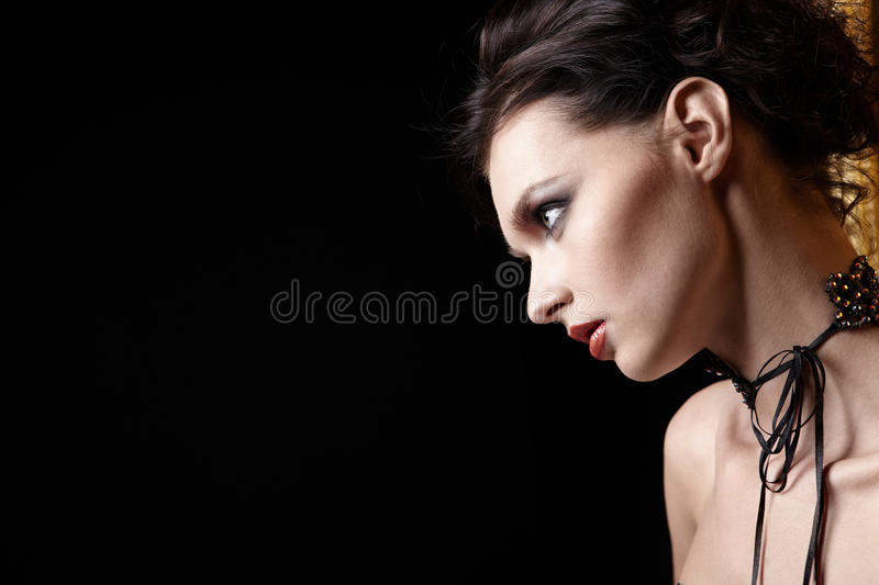 Download The stunned girl stock image. Image of make, glamour - 14614897